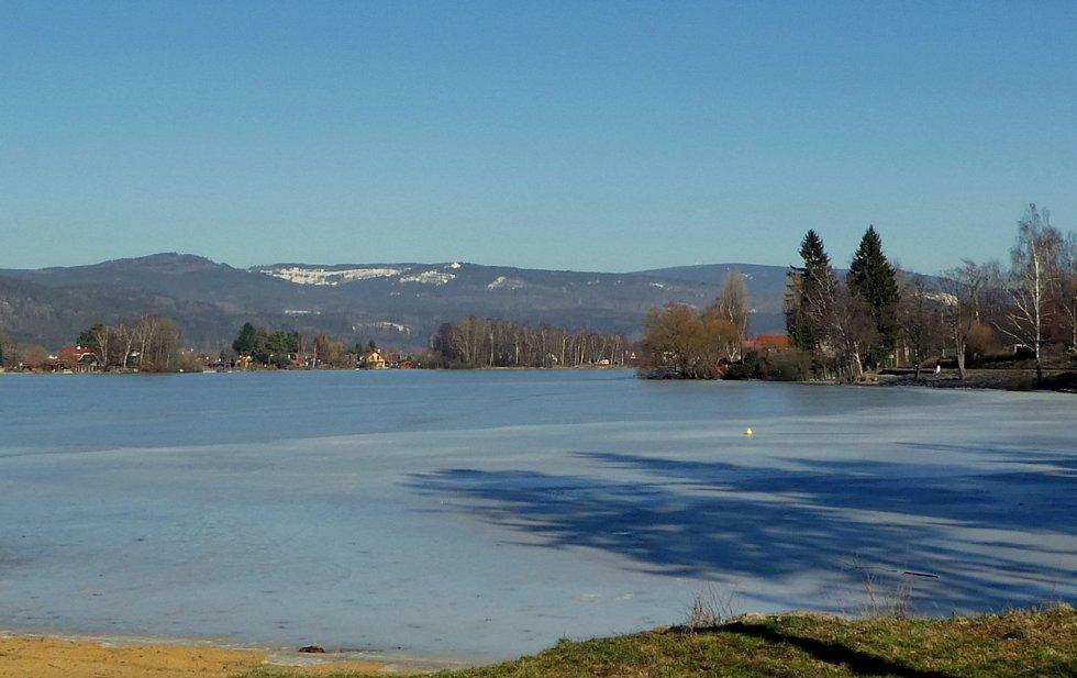 Velký rybník u Hroznětína