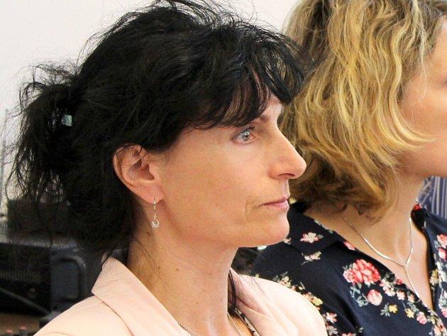 Miroslava Korseltová, vrchní sestra chebské interny, která zastupuje nespokojené zdravotníky