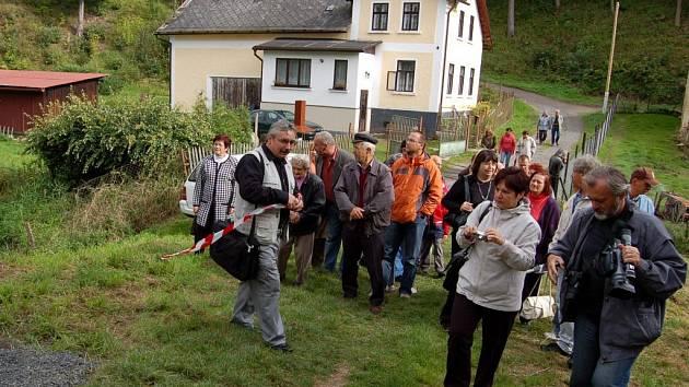 Otevření naučné stezky v okolí hradu Seeberg