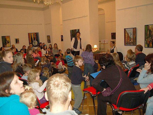 Adventní čtení v Galerii výtvarného umění v Chebu.