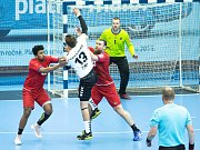 Přípravné utkání Česko - Argentina v házené mužů
