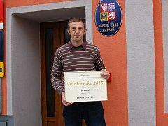 STAROSTA KRÁSNÉ Luboš Pokorný je na titul Vesnice roku hrdý.