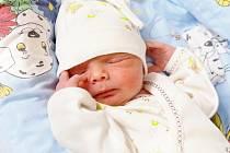 LADISLAV ŠARIŠSKÝ bude mít v rodném listě datum narození úterý 29. července v 5.55 hodin. Na svět přišel s váhou 2 480 gramů a mírou 47 centimetrů. Maminka Renata a tatínek Ladislav se těší z malého Ládíka doma v Chebu.