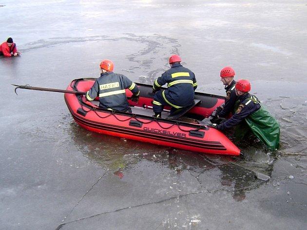 Prověřovací cvičení mariánskolázeňských hasičů
