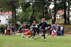 Hasičské oslavy v Plesné.