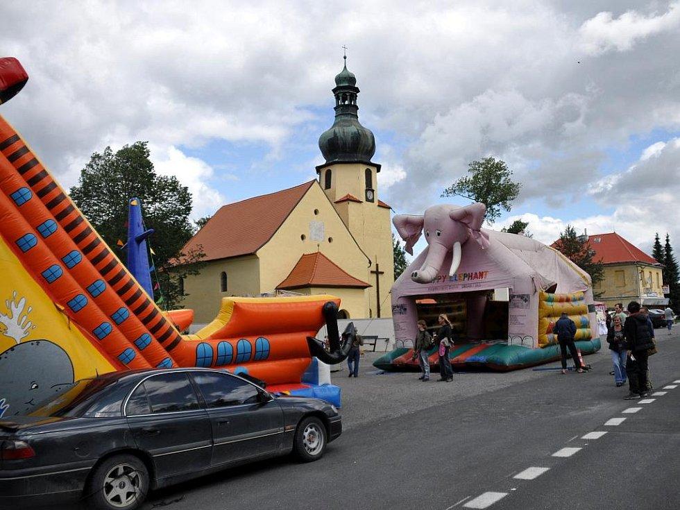 Svatojakubské slavnosti v Pomezí nad Ohří
