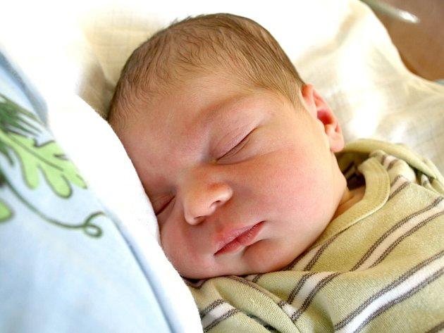 ALEŠ HROCH se narodil ve středu 29. února ve 20.53 hodin. Na svět přišel s váhou 3680 gramů a mírou 53 centimetrů. Doma v Chebu se z malého Aleška těší sestřička Alice, maminka Jana a tatínek Pavel.