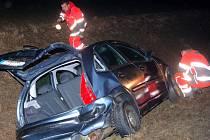 Dopravní nehoda, ke které došlo u Štěpánovic na Klatovsku