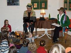 POHÁDKY v podání chebských herců si u dětí získaly velkou oblibu.