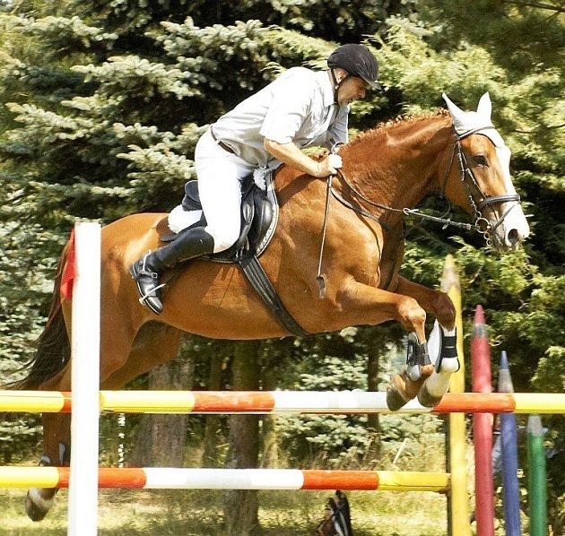 30. ročník velké ceny Chebu v jízdě na koni