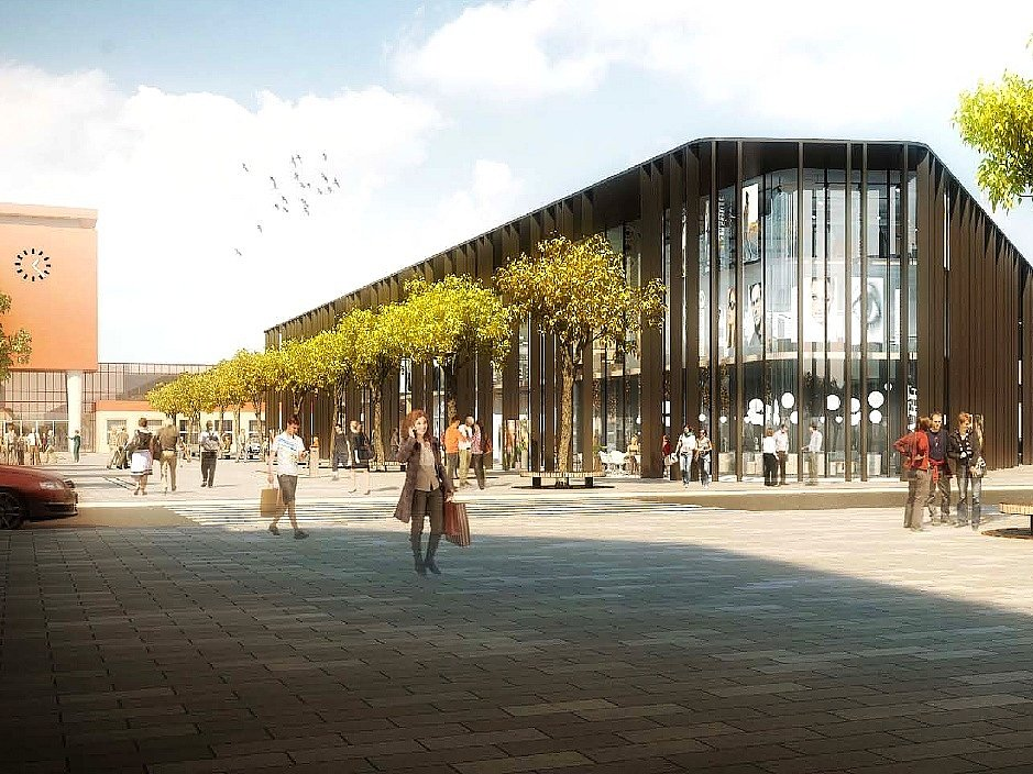 JAK BY LOKALITA před nádražím mohla vypadat? Tak by si ji představovali architekti ze studia A69.