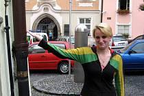 Měděné svody už zmizely i z chebského Špalíčku, jak se sama přesvědčila Irena Kupcová