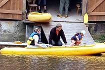 Velká část vodáků si stěžuje, že na březích Ohře na Chebsku, chybí dostatečný komfort