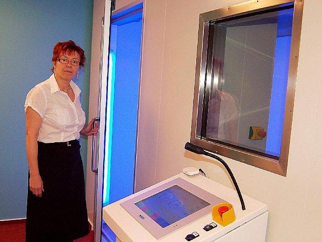 Sanatorium nejen pro lázeňské hosty nabízí také místním například ojedinělou kryokomoru