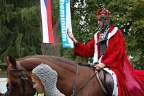 Do Žatce přijede na koni svatý Václav. Ilustrační foto.