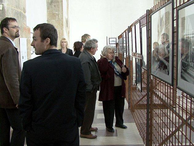 Výstavní prostory kostela sv. Bartoloměje v Chebu