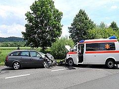 Nehoda v Mariánských Lázních