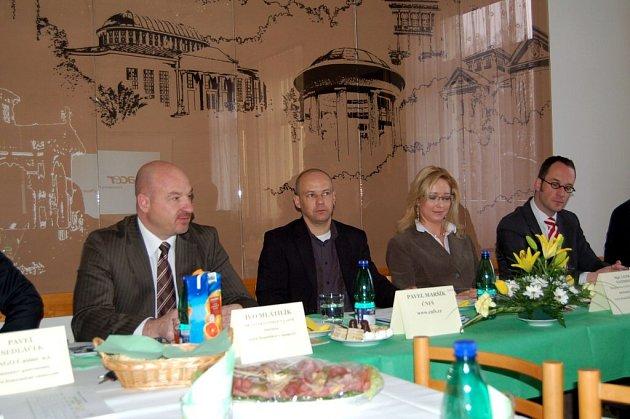 Projekt Minimistrovství Evropy ve fotbale byl představen na radnici ve Františkových Lázních