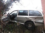 Dopravní nehoda.