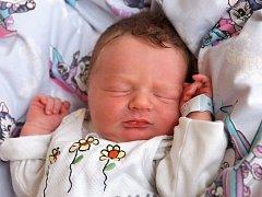 TOMÁŠ FRIČ přišel na svět v pondělí 9. prosince v 3.10 hodin. Při narození vážil 3 450 gramů a měřil 50 centimetrů. Z malého Tomáška se těší doma v Mariánských Lázních bráška Daniel spolu s maminkou Evou a tatínkem Vladimírem.