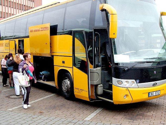 Autobus Student Agency.