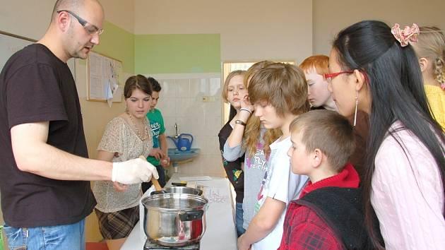 VEŘEJNOST SE MŮŽE se Svobodnou chebskou školou seznámit například při projektových dnech, které se zde konají dvakrát do roka.