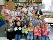 Záložky od drmoulských školáků putovaly na Slovensko