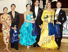 Chebští tanečníci vládnou kraji.