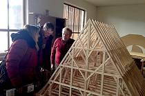 Model dalšího chebského krovu je ve výrobě