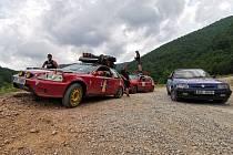 Vydali se na rallye po Rumunsku.