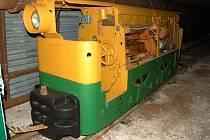 Důlní lokomotiva BND 30