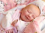 NATÁLIE ŠTĚTKOVÁ se narodila ve čtvrtek 17. března v 4.04 hodin. Na svět přišla s váhou 3 320 gramů a mírou 50 centimetrů. Maminka Kateřina a tatínek Vít se radují z malé Natálky doma ve Studánce.
