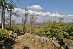 Rozhledna na Krásenském vrchu, Krudum a Dlouhá stoka