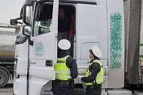 Policisté se při kontrole zaměřili především na řidiče kamionů a autobusů.