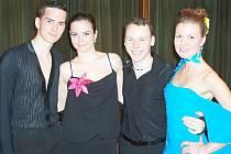 Tanečníci z chebského ATK Standard bodovali na postupové taneční soutěž v  Klatovech.