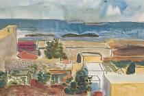 Jeden z obrazů Antonína Pelce.