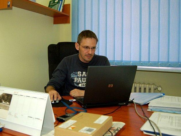 Vedoucí chebského Ekocentra Jan Kytka