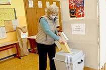 Seniorka Věra Chrastná z Chebu už má volby za sebou.