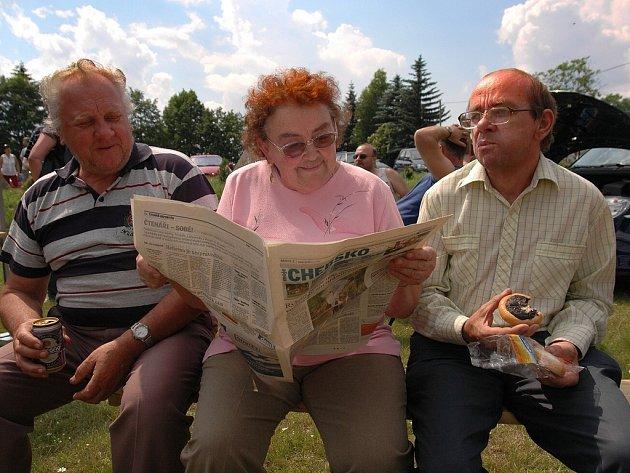 Den s Deníkem zavítal v pátek do Vojtanova na Chebsku