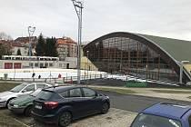 Zimní stadion v Chebu