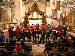 Adventní koncert v kostele v Paliči.