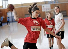 Chebská sportovní hala přivítala mládežnickou házenou