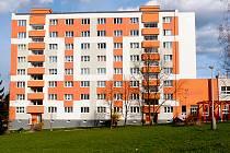 Domov pro seniory na chebském sídlišti Skalka.