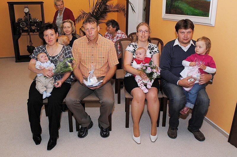 Žandovští přivítali nové občánky