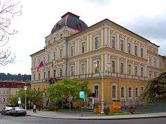 Radnice v Mariánských Lázních.