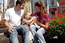 VELKOU RADOST mají z malé Anetky rodiče Petra a Dušan, ale rovněž tříletý bráška Pavlík.