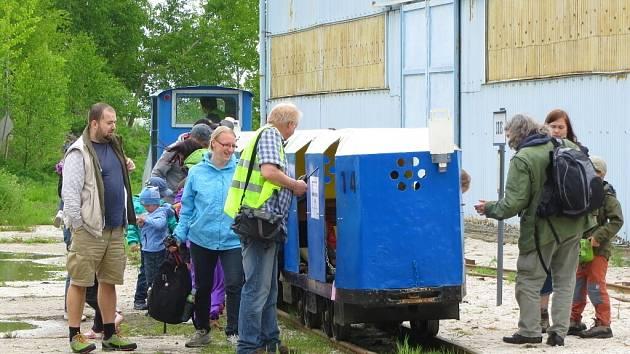 Úzkorozchodná dráha u přírodní rezervace Soos opět v květnu přilákala stovky cestujících.