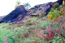 Železná hůrka se nachází přímo na hranici České republiky a Německa.