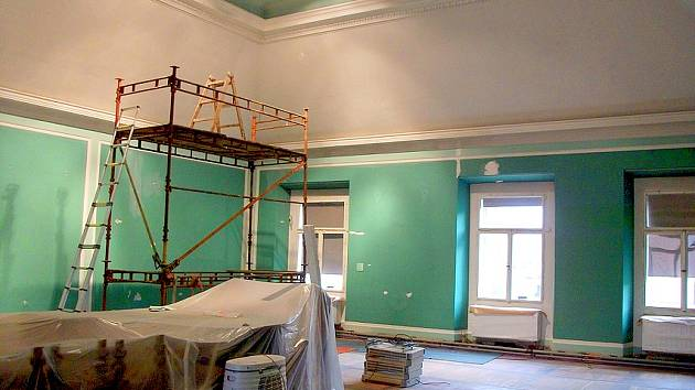V muzeu pokračuje rozsáhlá rekonstrukce. Skončit by měla v dubnu.