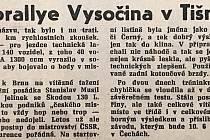 Chebský Hraničář z 23. května 1989